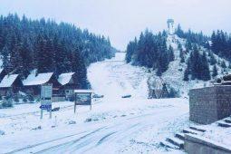 Zimska čarolija na Vlašiću: Snježne pahulje napravile bijeli pokrivač